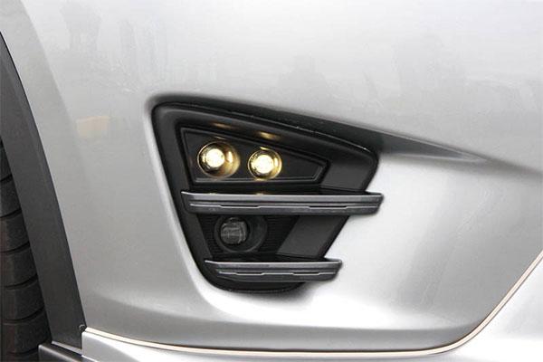 AutoExe オートエクゼ KE-05 スタイリングキット LEDデイタイムランプキット(ベゼルタイプ) CX-5 KE2FW KEEFW KE5AW KE5FW KE2AW KEEAW 純正LEDフォグランプ装着車