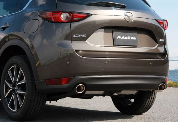 AutoExe オートエクゼ プレミアムテールマフラー CX-5 KF2P 車体番号:200001~ ※沖縄・離島は都度確認 ※個人宅配送不可