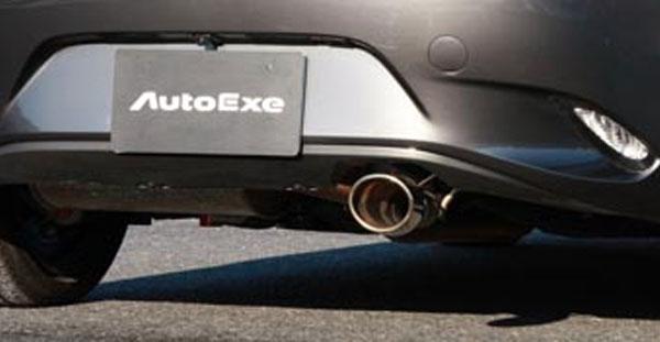 AutoExe オートエクゼ プレミアムテールマフラー ロードスターRF NDERC ※沖縄・離島は都度確認 ※個人宅配送不可