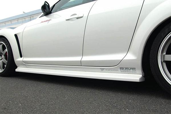 マツダディーラー以外のカーショップ発送のみ AutoExe オートエクゼ SE-02 スタイリングキット サイドエクステンションセット RX-8 SE3P 車体番号:~300000 ※北海道・沖縄・離島は都度確認 ※個人宅配送不可