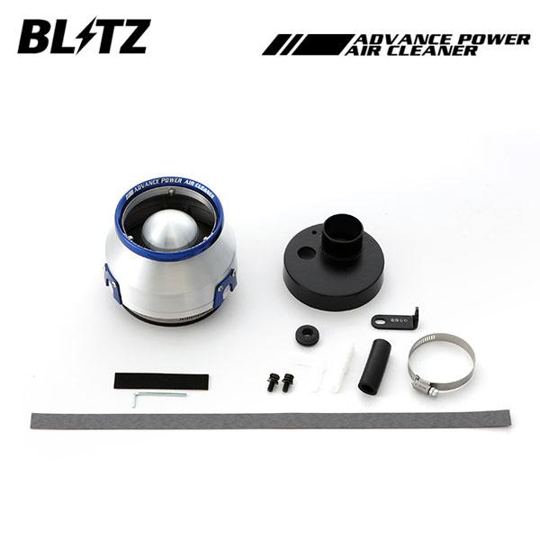 進化したコアタイプエアクリーナー BLITZ ブリッツ アドバンスパワー エアクリーナー エブリイ DA17V 2015/02~ R06A(Turbo) ターボ専用