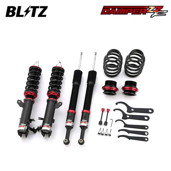 BLITZ ブリッツ 車高調 DAMPER ZZ-R 92310 フィットハイブリッド GP5 17/06~ LEB 2WD ※沖縄・離島 送料2000円(税別)