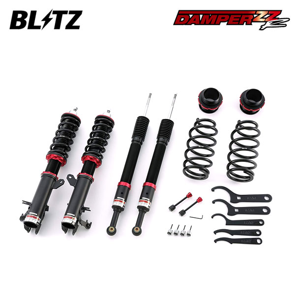 BLITZ ブリッツ 車高調 DAMPER ZZ-R 92317 フィットハイブリッド GP6 17/06~ LEB 4WD ※沖縄・離島 送料2000円(税別)