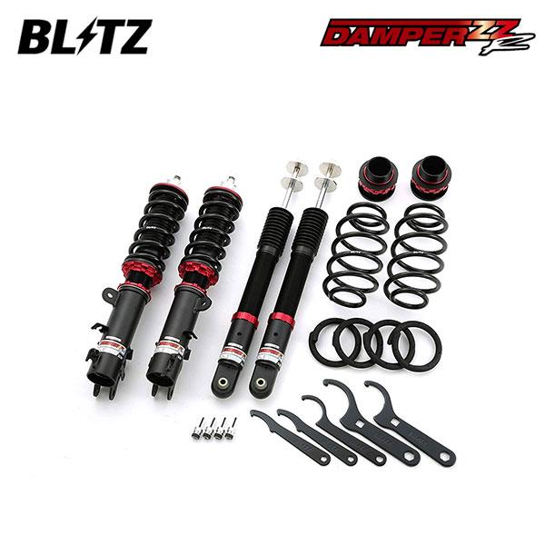 BLITZ ブリッツ 車高調 DAMPER ZZ-R 92487 N-BOXカスタム JF1 11/12~ S07A (Turbo/NA) Turbo/NA共通 2WD