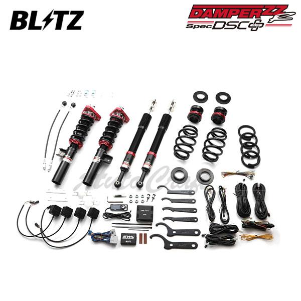 BLITZ ブリッツ 車高調 DAMPER ZZ-R DSCプラス 98385 シビック タイプR FK2 15/12~ K20C ※沖縄・離島 送料2000円(税別)