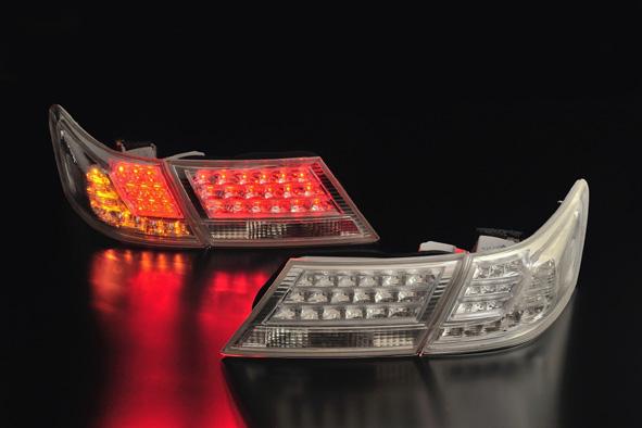クリアワールド ホンダ オデッセイ [RB3/RB4] 前期用 デュアル LEDテールライト クリアレンズ