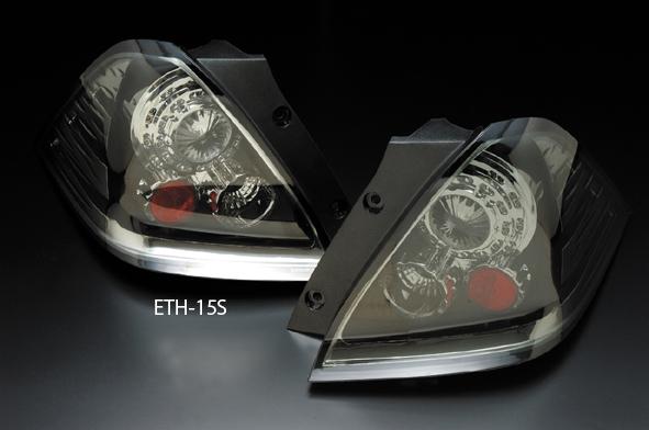 クリアワールド ホンダ オデッセイ [RB1/RB2] 前期用 LEDユーロテールランプ インナークローム/スモークレンズ