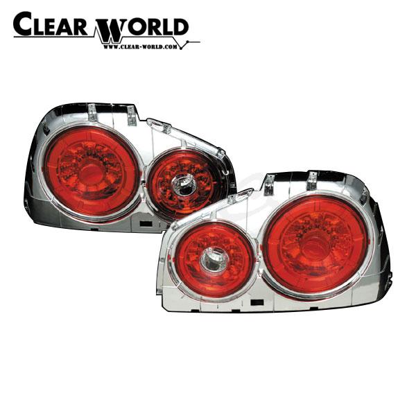 クリアワールド LEDテールランプ スカイラインGT-R BNR34 1999/01~2002/08