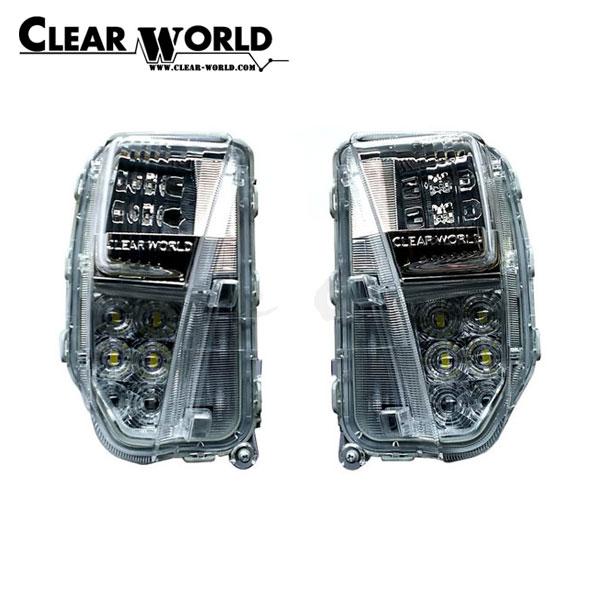 クリアワールド フロントバンパーウインカー LEDシーケンシャルウインカー(点滅・流れる切替式) プリウス ZVW30 2011/12~2015/11 後期用