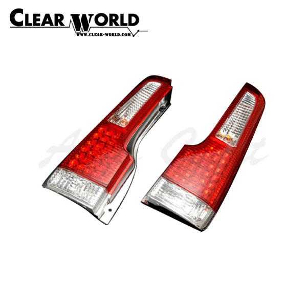 クリアワールド LEDテールランプ レッド/クリアレンズ ライフ JB3 JB4 2000/12~2003/09