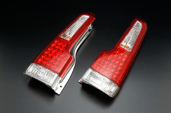 クリアワールド ホンダ ライフ [JB1/JB2/JB3/JB4] LEDテールライト レッド/クリアレンズ