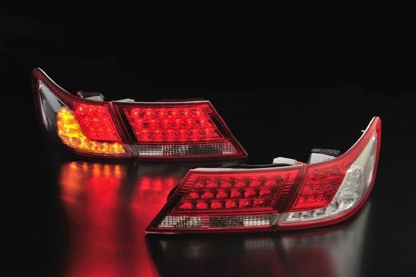 クリアワールド ホンダ オデッセイ [RB3/RB4] 前期用 デュアル LEDテールライト レッド/クリアレンズ