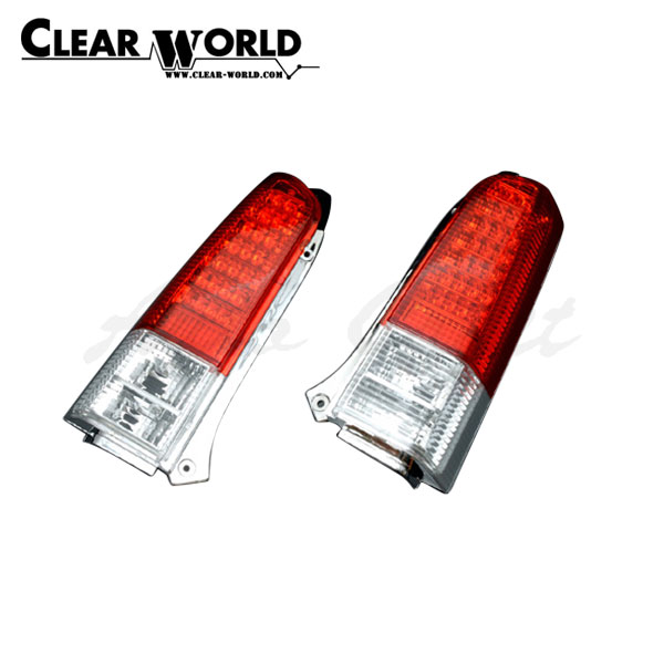 クリアワールド LEDテールランプ レッド/クリアレンズ ワゴンR MC11S MC12S MC21S MC22S 1998/10~2003/09