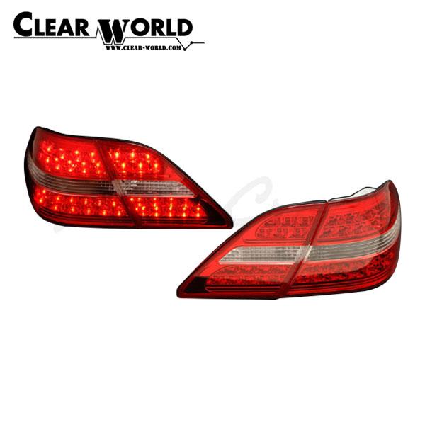 クリアワールド LEDコンビテールランプ レッド/クリアレンズ セルシオ UCF30 UCF31 2000/08~2003/07 前期用