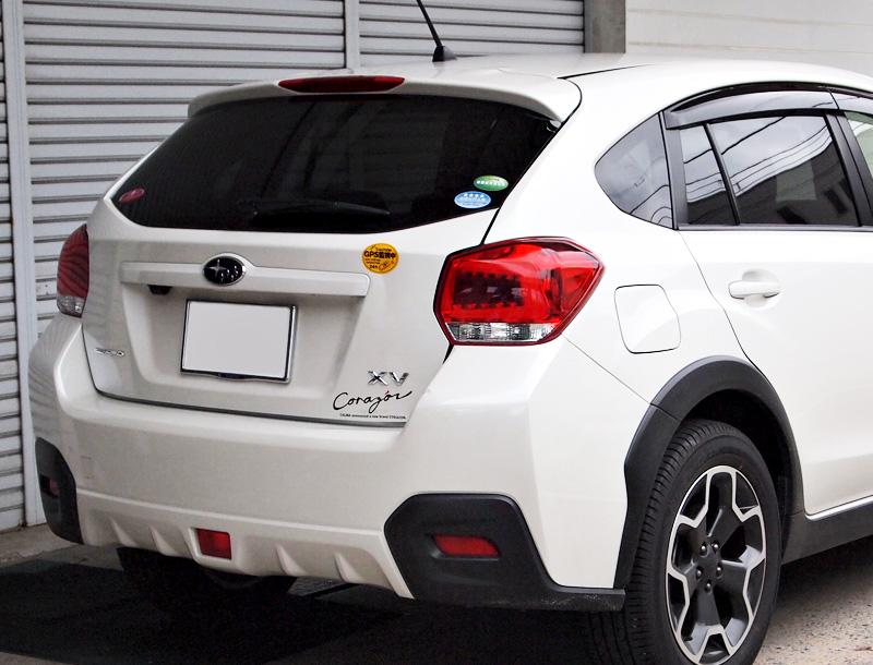 COLIN-SHREAD インプレッサXV用 LEDテールランプ クロームメッキ/レッドレンズ 【SUBARU XV [GP7] 2012.10~2017.04 (HYBRID車を除く)】 1台分左右セット