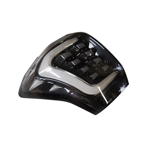 COLIN-SHREAD フォレスター用 LEDテールランプ ホワイトチューブ カーボンブラック/クリアレンズ 【フォレスター [SJ5/SJG] 2012.11~2015.10 (MC前期)】 1台分左右セット