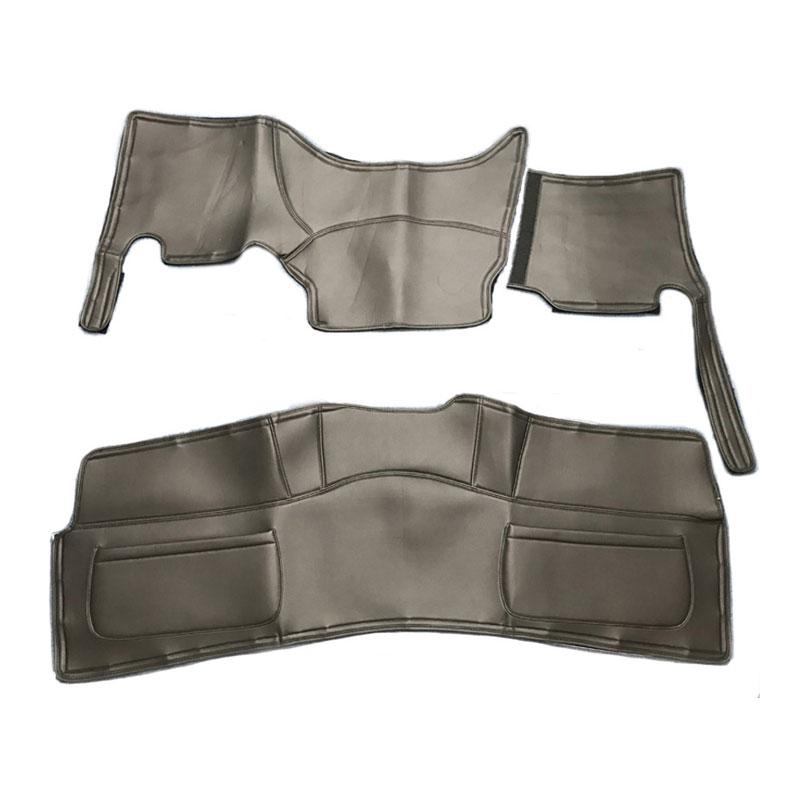 HiLow conceptH フロント リアデッキカバーセット セール ポケット付 ハイエース 標準ボディ 1~3型前期 200系 スーパーGL 期間限定お試し価格