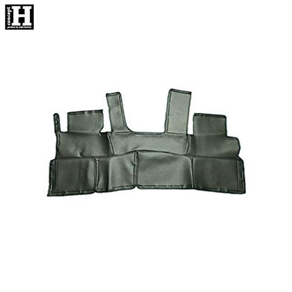 [concept H] リアデッキカバー ハイエース 200系 ワイドボディ 1型~4型 [スーパーGL]