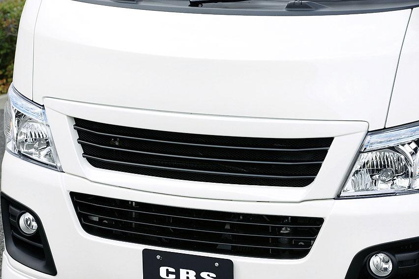 CRS ESSEX 前期用 フロントグリル ABS製 未塗装 NV350キャラバン E26 2012年6月~2017年6月 ノーマルボディ用 北海道・沖縄・離島は要確認