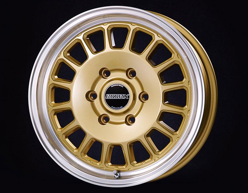 CRS ESSEX ホイール ENCD-17 1ピース 17×6.5J +38 ゴールド(GL) 1本 ハイエース 200系 2004年8月~ 北海道・沖縄・離島は要確認