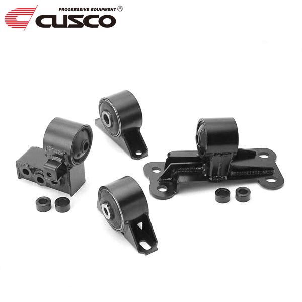 [CUSCO] クスコ エンジンマウント ブラケット付 ランサーエボリューションV CP9A 1998年01月~1999年01月 4G63 2.0T 4WD