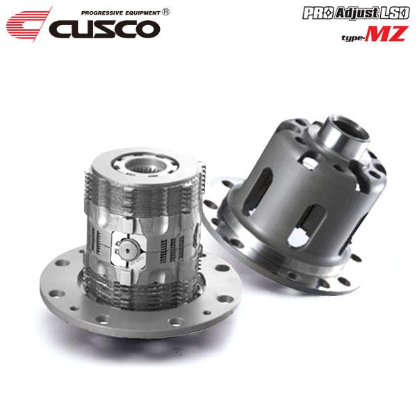 作動カム角をセッティングできるプロ仕様 CUSCO クスコ プロ アジャストLSD タイプMZ 初期設定1way 1.5way 2way可 リヤ 4WD 2.0T AYC無 希少 2003年01月~2004年01月 正規品送料無料 4G63 標準デフ:機械式 CT9A ランサーエボリューションVIII MT
