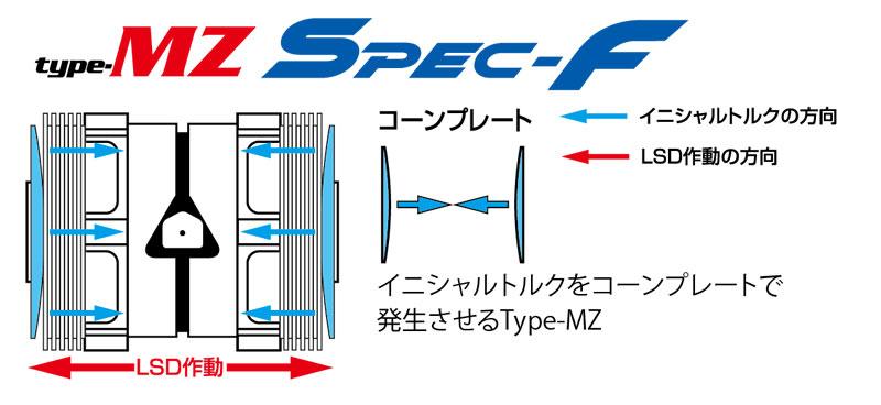 [CUSCO]クスコLSDタイプMZスペックF2way(1.5&2way)リヤソアラGZ201988年07月~1991年05月1G-GTEU2.0TFRMT標準デフ:オープン