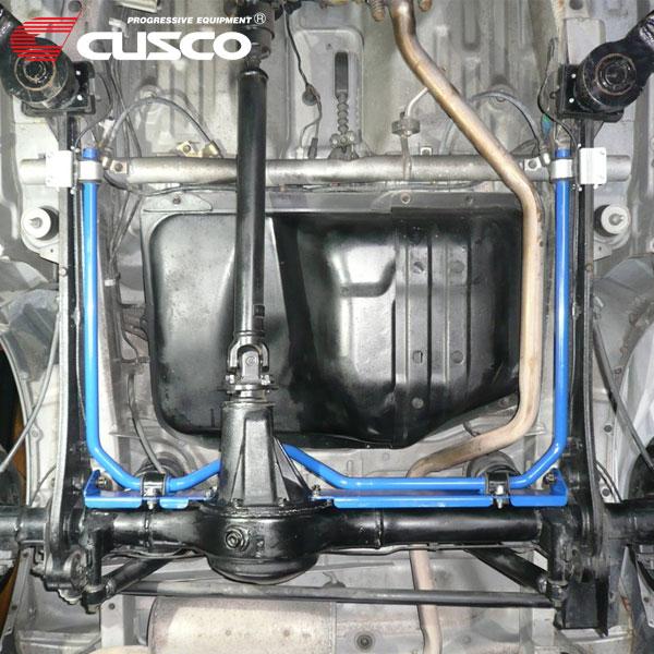 CUSCO クスコ リヤ・スタビバー リヤ ジムニー JB23W 1998年10月~2008年05月 K6A 0.66T 4WD 純正マフラー装着車のみ取付可です。7型以降リヤデフのフィン干渉のため取付不可です。 中実φ22