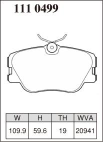 [DIXCEL]ディクセルブレーキパッドR23Cフロント用メルセデスベンツ【W124セダン300E/E3004MATIC12423086/9~95/6】送料無料(沖縄・離島・同梱時は送料別途)