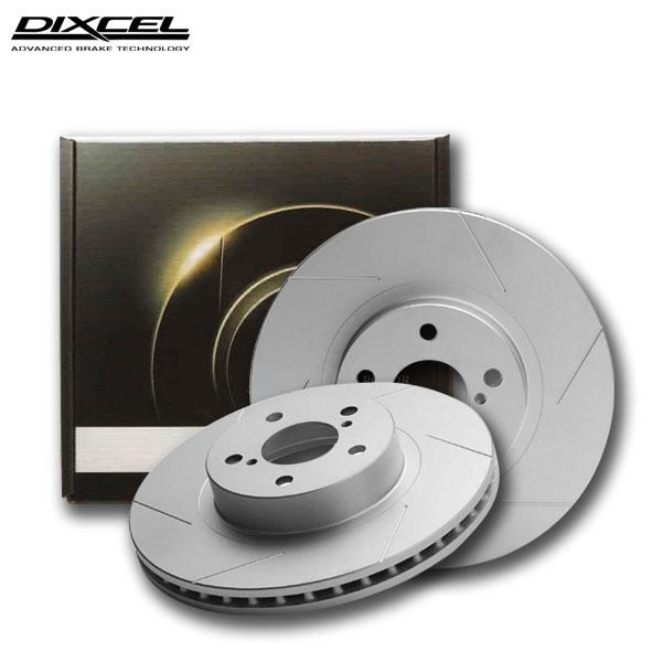 プラス20%の制動力がもたらす安全性  DIXCEL ディクセル ブレーキローター SDタイプ フロント用 YRV M201G M211G 00/08~05/08 TURBO