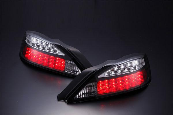 [D-MAX] LEDテールランプ LEDウィンカータイプ (ブラック) シルビア S15