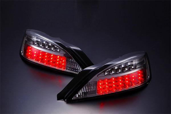 [D-MAX] LEDテールランプ LEDウィンカータイプ (スモーク) シルビア S15