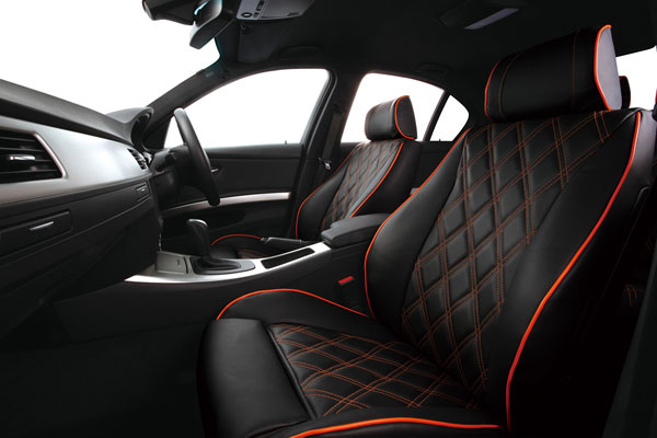 ELDINE エルディーネ ダイヤキルト シートカバー BMW 2シリーズ F46 Sport / M-sport スポーツシート 2D15 2E20 H27/6~ 7人乗 [218i / 218d / 220i] ※沖縄本島は送料3000円(税別) 離島は要確認