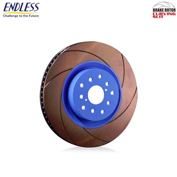 [ENDLESS] エンドレス ブレーキローター CURVING SLIT (カーヴィングスリット) リア用 1枚【スカイライン ER34 98.5~ ターボ】 北海道・沖縄・離島は送料1000円(税別)