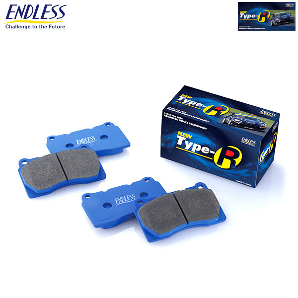 [ENDLESS] エンドレス ピーエフシー製 レーシングキャリパー用 ブレーキパッド NEW タイプR ピストン数 4