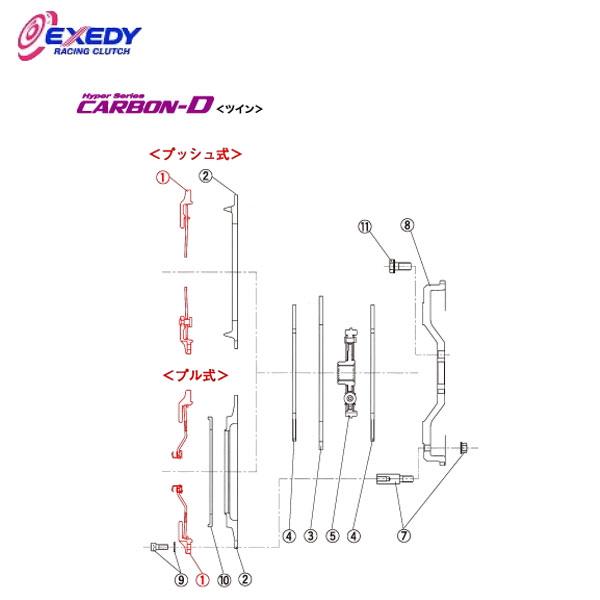 格安SALEスタート! EXEDY エクセディ 9 CM45H カーボンDツイン MM022HDMC1 MM022HDMC1 (1)C.COVER ランサーエボ 4 EXEDY 5 6 7 8 9, Borderhill:e40db170 --- gerber-bodin.fr