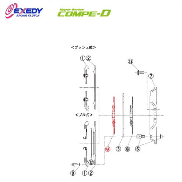 EXEDY エクセディ DM31DA コンペD TM032SDL (4-A)DISC ASSY チェイサー