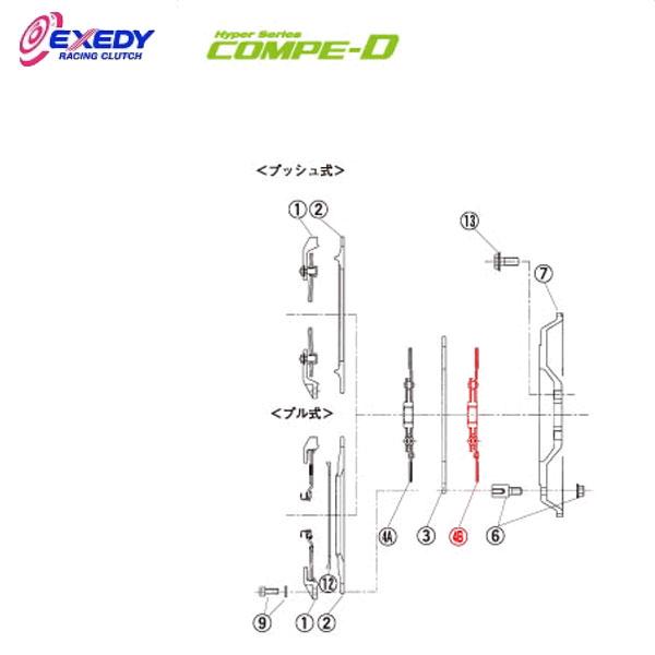 EXEDY エクセディ DM35DB コンペD FM012SDL (4-B)DISC ASSY インプレッサ GC8