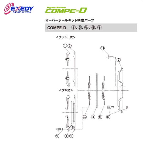 EXEDY エクセディ DM35DA コンペD FM022SDL (4-A)DISC ASSY インプレッサ GDB VAB