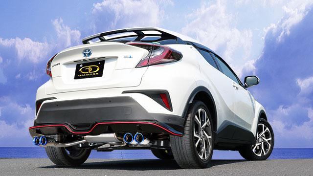 2019年新作 GANADOR ガナドール マフラー Vertex Vertex 4WD//SUV Sporty C-HR DAA-ZYX10 2016/12~ 2ZR-FXE (1797cc) [トヨタ純正 Metallic Style/ Sporty Style] 個人宅配送 沖縄・離島は要確認:オートクラフト, 照本食肉加工所:b56d578d --- marmergulho.com.br