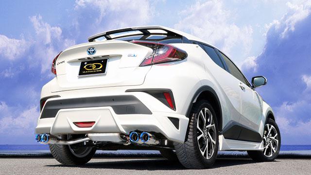 本物 GANADOR ガナドール DAA-ZYX10 マフラー 2ZR-FXE Vertex 4WD/SUV (1797cc) C-HR DAA-ZYX10 2016/12~ 2ZR-FXE (1797cc) [TRD Aggressive Style] 個人宅配送 沖縄・離島は要確認:オートクラフト, かわいい!:23012d23 --- marmergulho.com.br