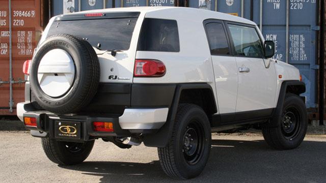 GANADOR ガナドール マフラー Vertex 4WD/SUV FJクルーザー CBA-GSJ15W 2010/12~2018/1 1GR-FE (3955cc) [国内仕様 / 標準バンパー] 個人宅配送不可 沖縄・離島は要確認