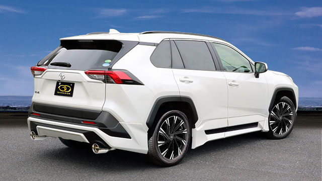 GANADOR ガナドール マフラー Vertex 4WD/SUV RAV4 6BA-MXAA54 2019/4~ M20A-FKS (1986cc) 4WD [TRD Street Monster] 個人宅配送不可 沖縄・離島は要確認