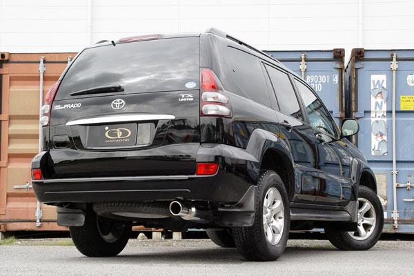 GANADOR ガナドール マフラー Vertex 4WD/SUV ハイラックスサーフ CBA-GRN215W 2005/8~2009/9 1GR-FE [標準バンパー] 個人宅配送不可 沖縄・離島は要確認