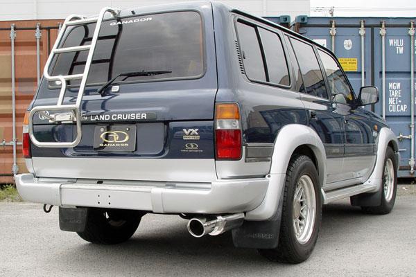 GANADOR ガナドール マフラー Vertex 4WD/SUV ランドクルーザー80 E-FZJ80G 1995/2~1998/1 1FZ-FE [後期 / 標準バンパー] 個人宅配送不可 沖縄・離島は要確認