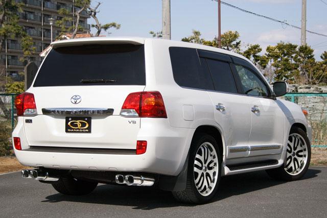 GANADOR ガナドール マフラー Vertex 4WD/SUV ランドクルーザー200 CBA-URJ202W 2009/4~2015/7 1UR-FE (4608cc) [中期 / 標準バンパー] 個人宅配送不可 沖縄・離島は要確認