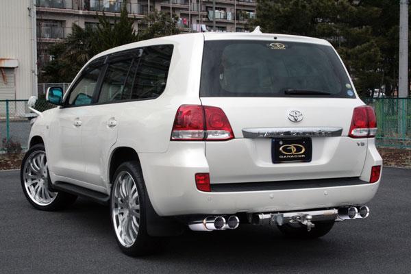 GANADOR ガナドール マフラー Vertex 4WD/SUV ランドクルーザー200 CBA-UZJ200W 2007/09~2009/04 2UZ-FE (4700cc) [前期 / 標準バンパー] 個人宅配送不可 沖縄・離島は要確認