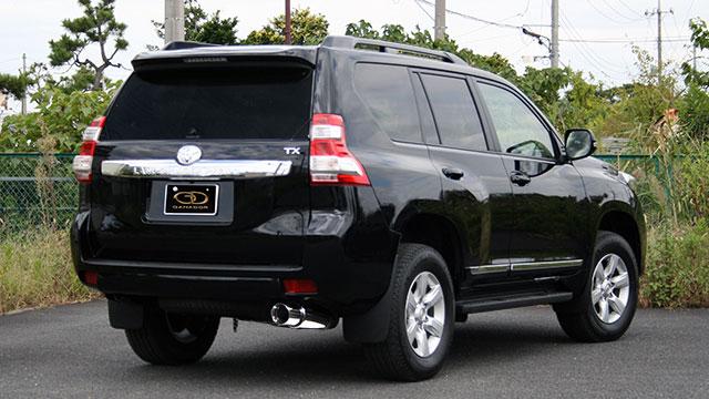 GANADOR ガナドール マフラー Vertex 4WD/SUV ランドクルーザープラド CBA-TRJ150W 2012/11~2015/5 2TR-FE (2700cc) [仕様変更後 / 標準バンパー] 個人宅配送不可 沖縄・離島は要確認