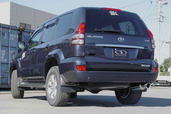 GANADOR ガナドール マフラー Vertex 4WD/SUV ランドクルーザープラド KN-KDJ120W KN-KDJ121W 2002/10~2009/8 1KD-FTV [標準バンパー] 個人宅配送不可 沖縄・離島は要確認