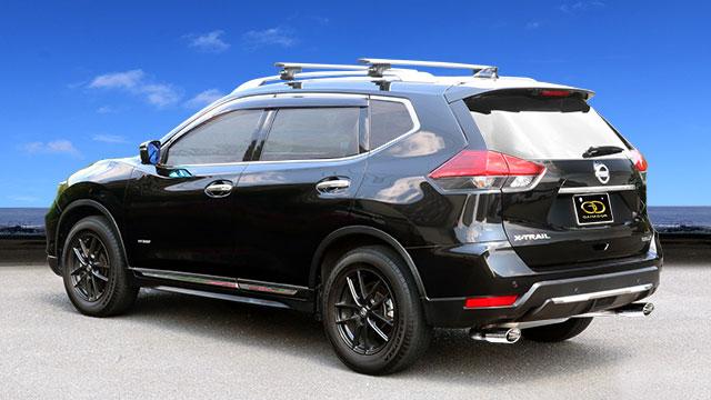 GANADOR ガナドール マフラー Vertex 4WD/SUV エクストレイル DAA-HNT32 2015/5~2017/5 MR20DD-RM31 4WD [標準バンパー] 個人宅配送不可 沖縄・離島は要確認
